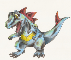 totodile by Ashuras2000