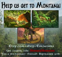 Help us get to Montana - Print Sale! by KatieHofgard