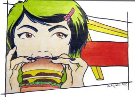 That's What A Hamburger... by Destiny-Carter