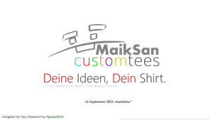Custom Tees Service starting in europe :3 by MaikSan
