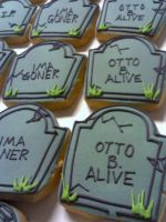 Headstone Cookies by eckabeck