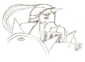 Alphonse Sketch by ajbluesox