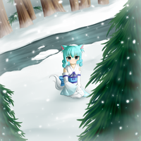 Snow-Fall Forest by Sweet-DaYo