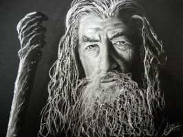 Gandalf by DuchaART