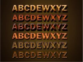 Wooden Text Effects by muish