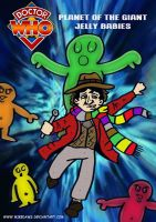 Doctor Who - Planet of the Giant Jelly Babies by mikedaws