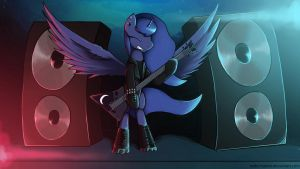 Luna Rock by MAKC-HUNTER