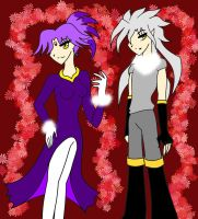 Humanoid-ish: Blaze and Silver by Jyuudai