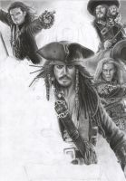 Pirates Of The Caribbean WIP 6 by D17rulez