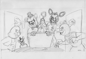 Five Nights at Freddy's (WIP) by VGRetro