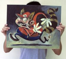 Racoon Mario by quick2004