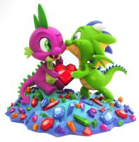 3D Print Commission featuring Spike by TimothyB