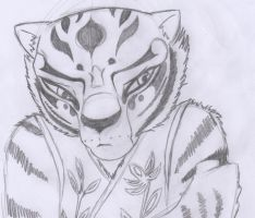 Tigress doodle by Louise008