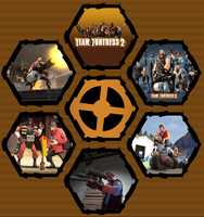 Team Fortress 2 by WE4PONX