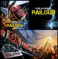 Teslathrone - Railgun by m-u-h-a