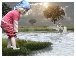 To the pond... by tasa78