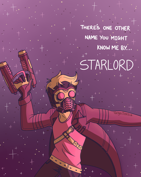 Starlord by TanyaTinks