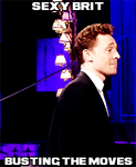Hiddles Busting The Moves--(Gif) by MischievousMonster