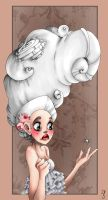 The bad part about rococo wigs by mjorf