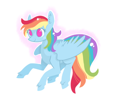 Rainbow by JellyBeanBullet