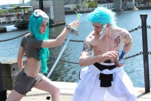 Grimmjow Cosplay by WolfeXL