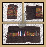 Crochet Hook Organizer by MyntKat
