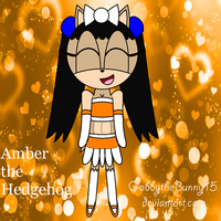 Amber the Hedgehog by BabyBunnyBun