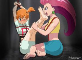 jessie y misty by rescueme1496
