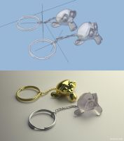 Blender3D Cycles Keychain by mclelun