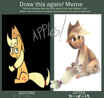 improve meme/draw this again by Spanish-Scoot