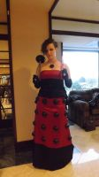 Red Dalek Lady by Neville6000