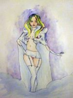 Emma Frost... meh.. by Squall1015