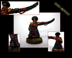 Imperial Guard Commissar by aaronprovost