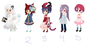 Special Adopts Free~!(1 Open) by HIDDENloid-EXE