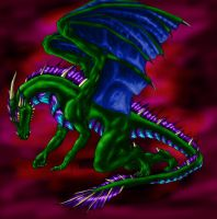 Penitent coloured by Draconigenae666