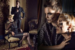 Drop Dead Gorgeous for Beauty Magazine by MaLize