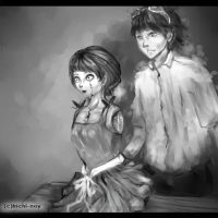 Halloween 2012: The Inventor and the doll by frichi-noy
