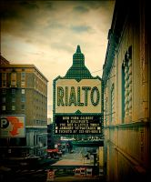 Retro sign rialto by Mackingster