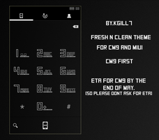 Fresh N Clean Theme Preview For CM9 by kgill77