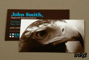 Security Service Business Card by inkddesign
