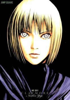 claymore clare by batguyz