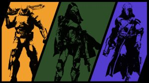 Destiny Classes Poster by aleco247