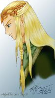 The King of Mirkwood by ladylucrezia