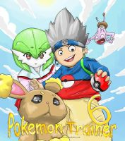 Pokemon trainer 6 ~ Cover page by MasterPloxy