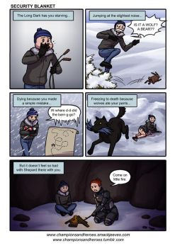 C and H: The Long Dark - Security Blanket by Ddriana