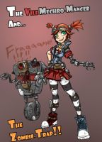 Borderlands 2 - Mechromancer by rooki1