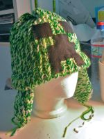 Minecraft Creeper Hat by ShellMinded