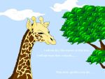 Evil Giraffe by BrowncoatFiction