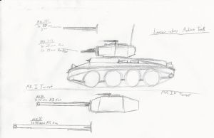 Lancer-Class Medium Cavalry Tank by ZeroRM