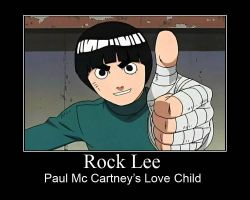 Rock Lee - Stupid by Bootz101